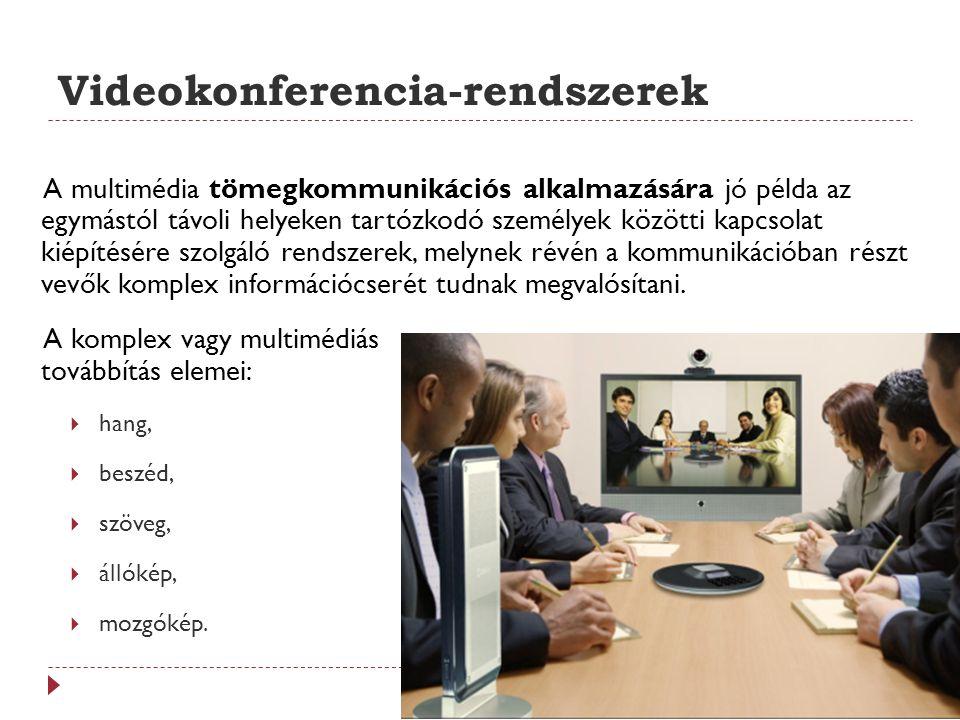Videokonferencia-rendszerek