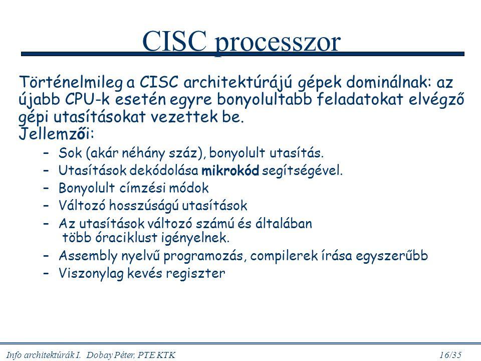 CISC processzor