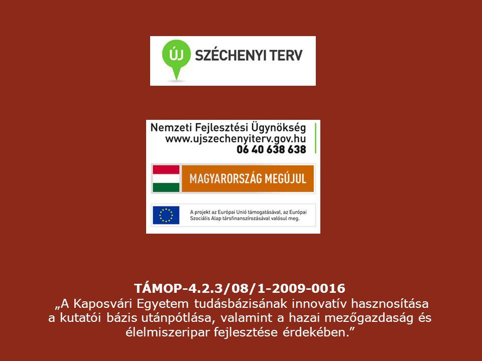 """""""A Kaposvári Egyetem tudásbázisának innovatív hasznosítása"""