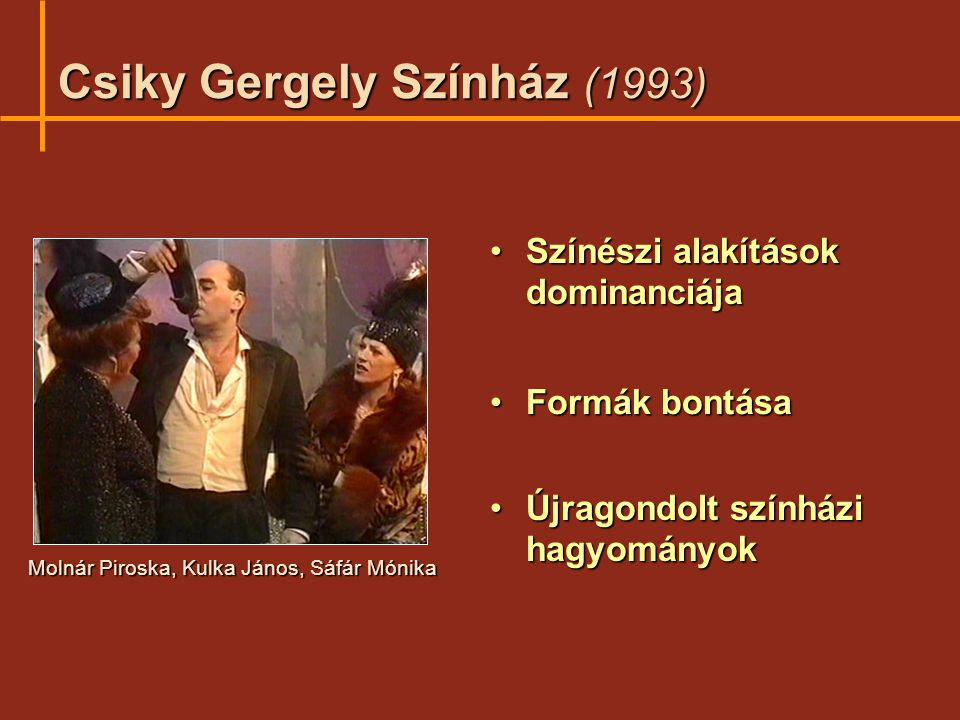 Csiky Gergely Színház (1993)