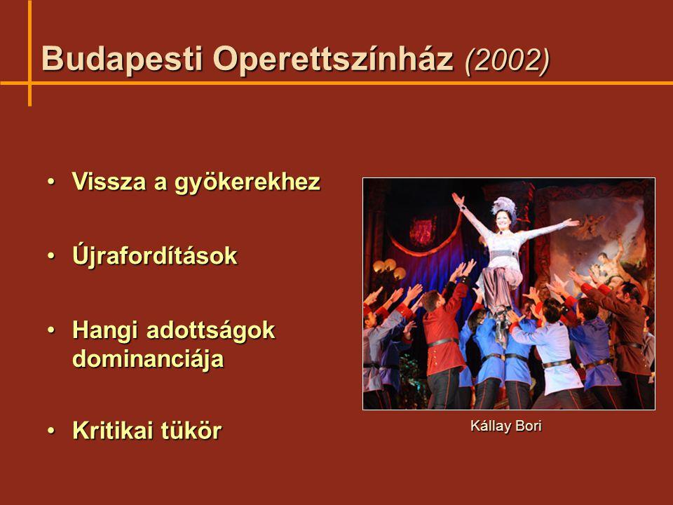 Budapesti Operettszínház (2002)