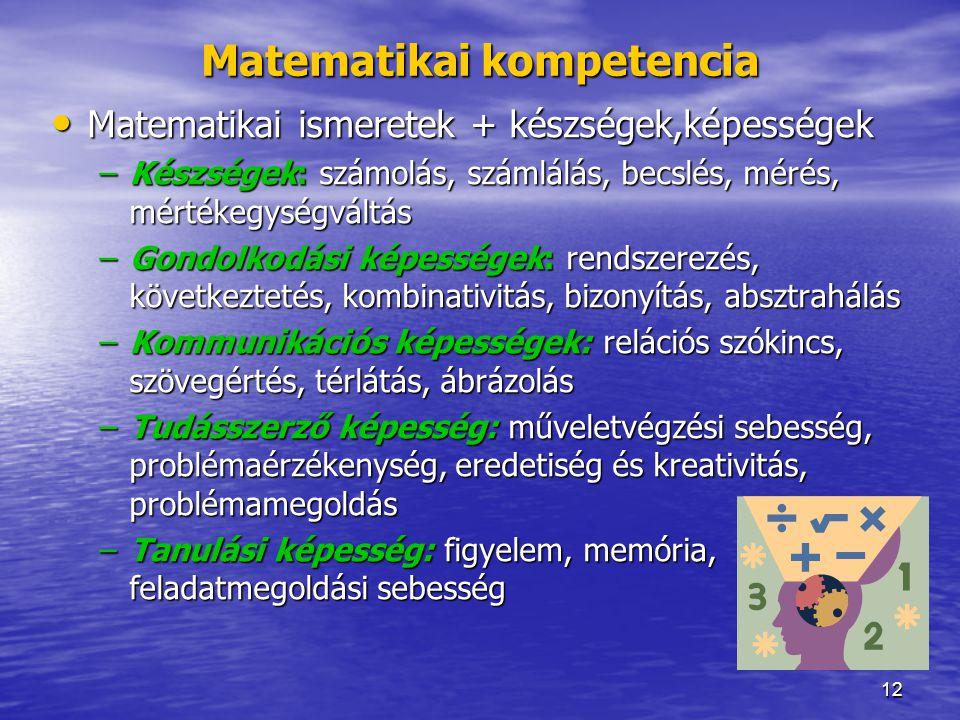 Matematikai kompetencia
