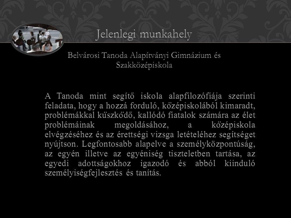 Belvárosi Tanoda Alapítványi Gimnázium és Szakközépiskola