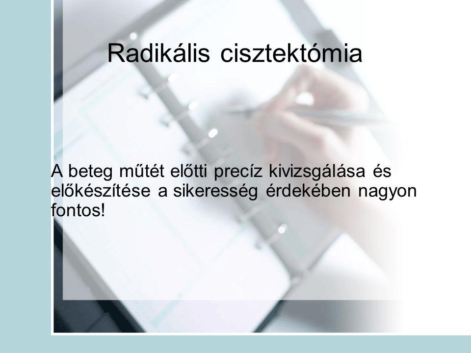 Radikális cisztektómia