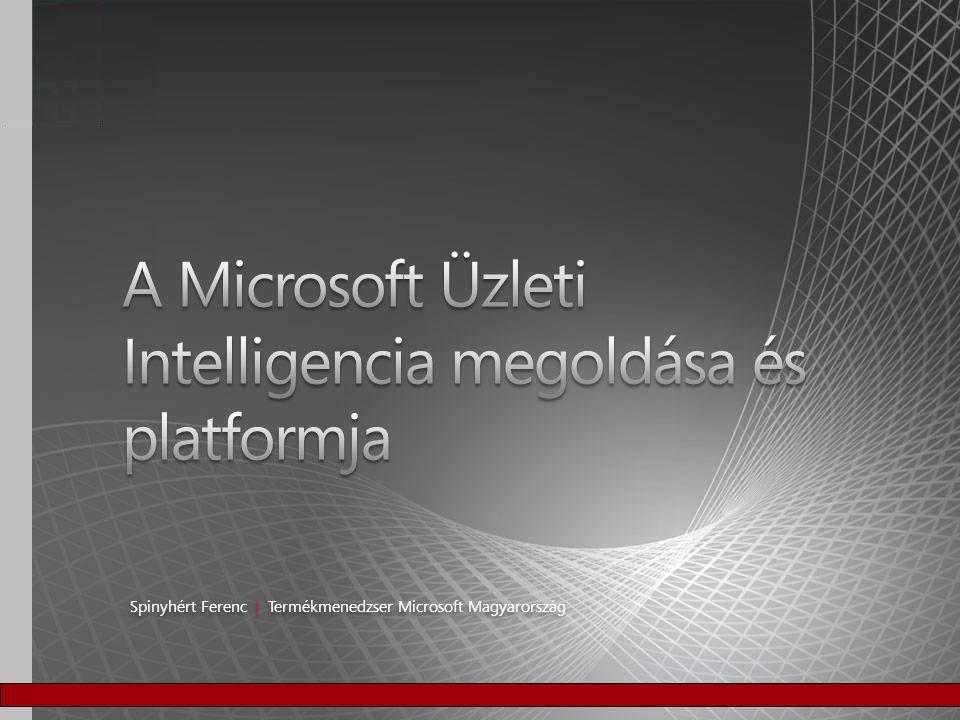 A Microsoft Üzleti Intelligencia megoldása és platformja