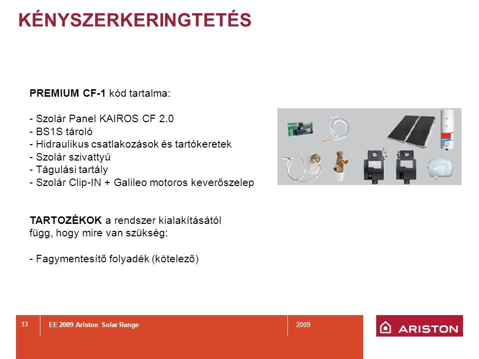 KÉNYSZERKERINGTETÉS PREMIUM CF-2 kódok tartalmazzák: