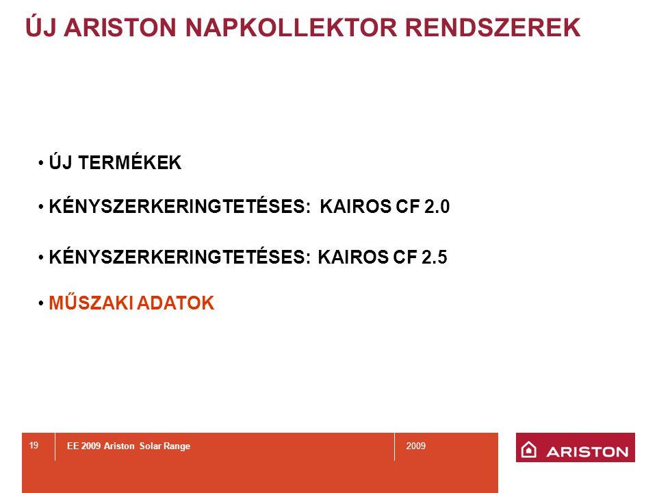 KAIROS CF 2.0 Új kollektor kényszerkeringtetéses rendszerre.