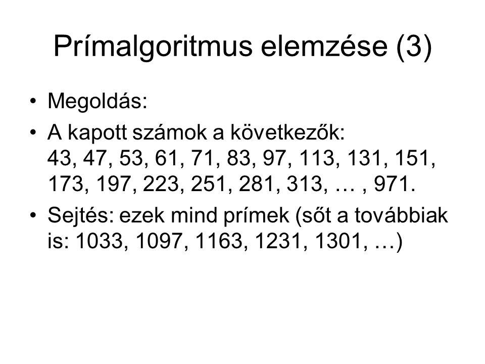 Prímalgoritmus elemzése (3)