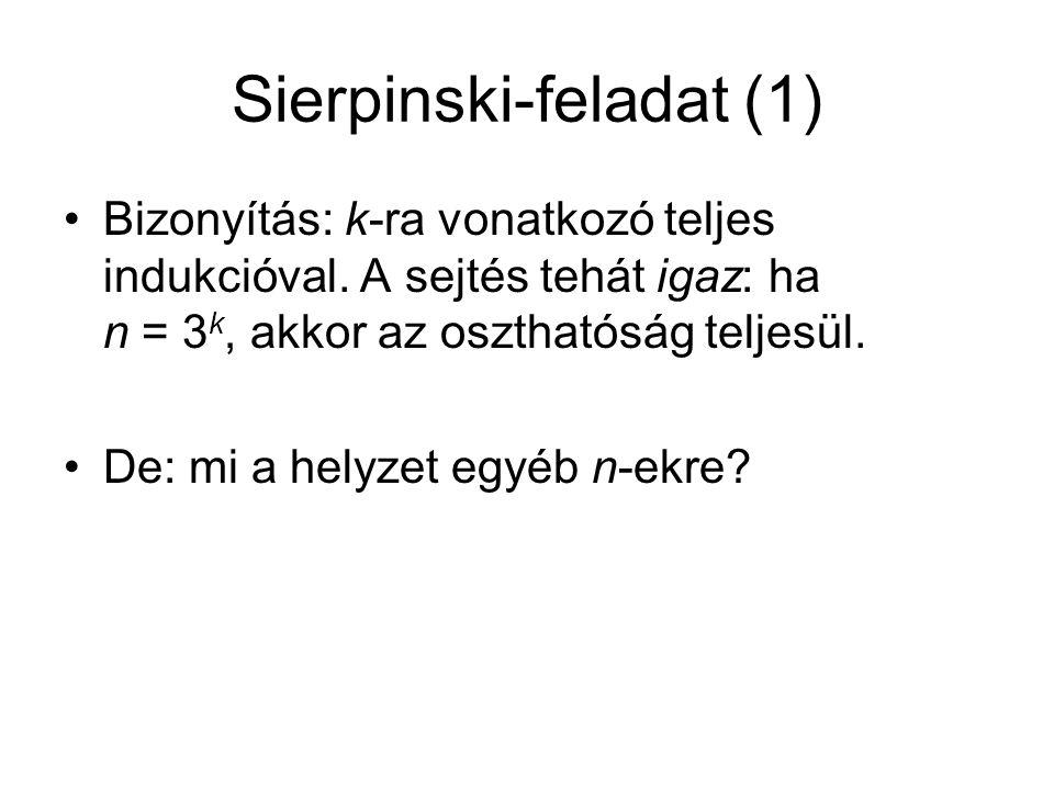 Sierpinski-feladat (1)