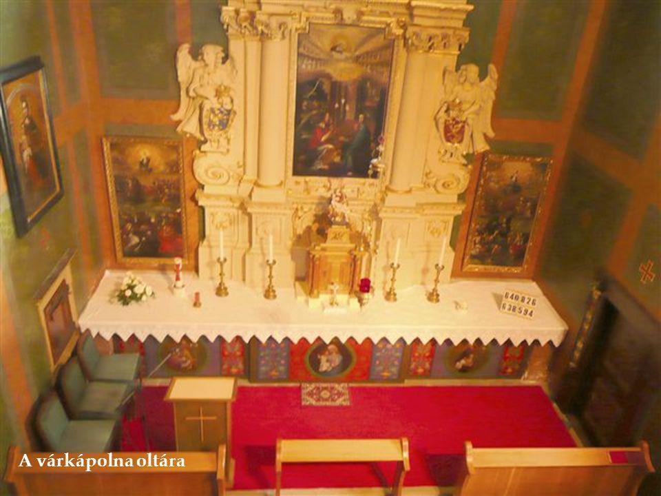 A várkápolna oltára