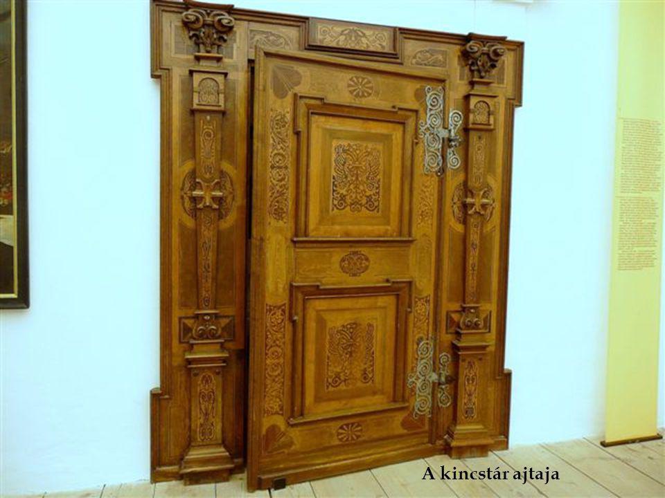 A kincstár ajtaja