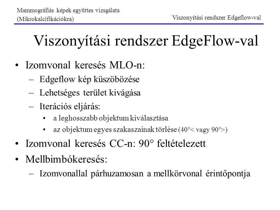 Viszonyítási rendszer EdgeFlow-val