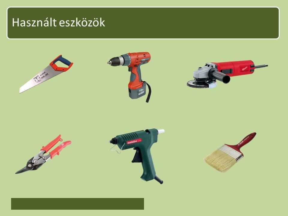 Használt eszközök
