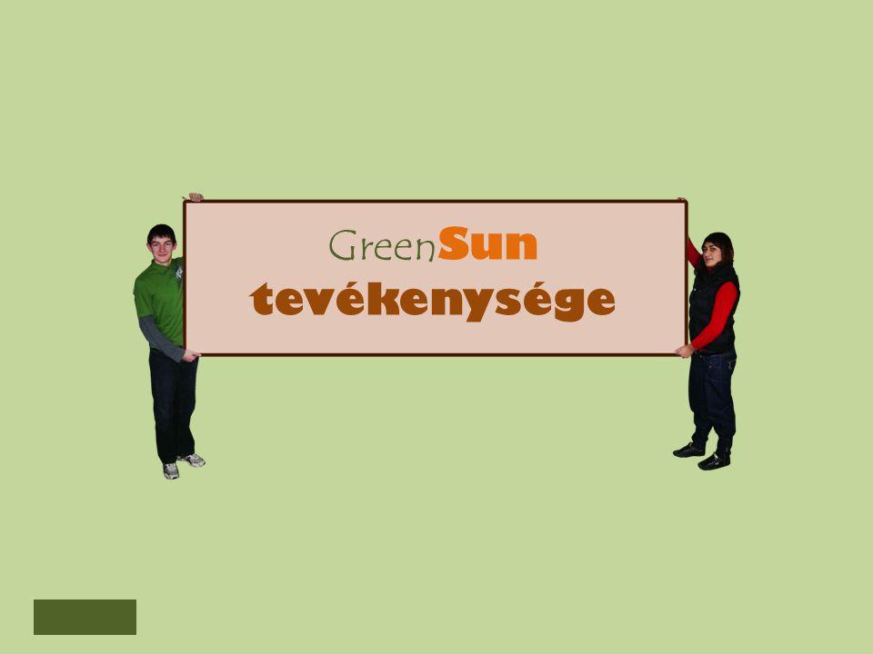 GreenSun tevékenysége