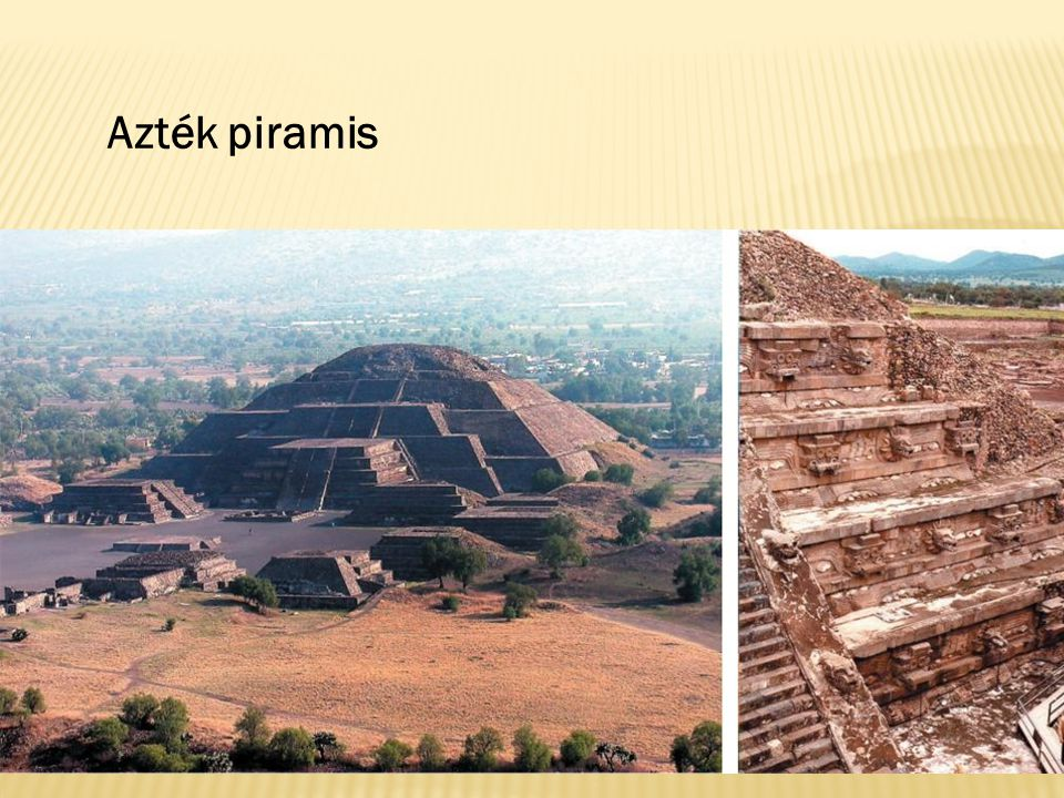 Azték piramis