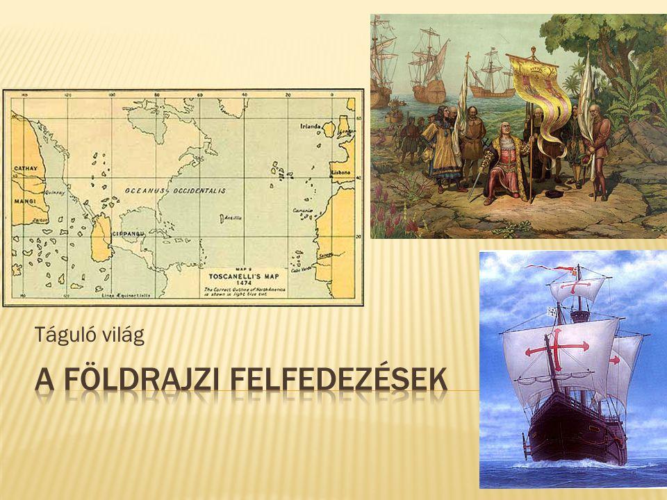 A földrajzi felfedezések