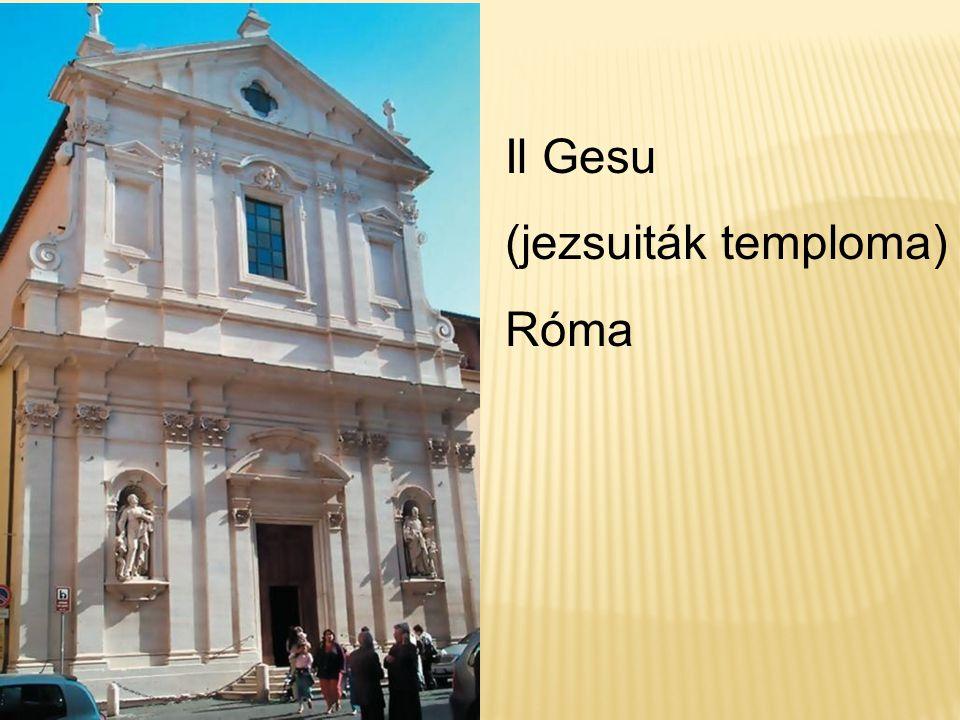 Il Gesu (jezsuiták temploma) Róma