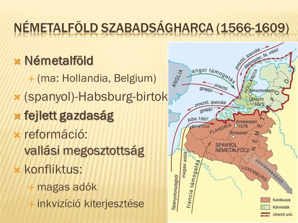 Németalföld szabadságharca (1566-1609)