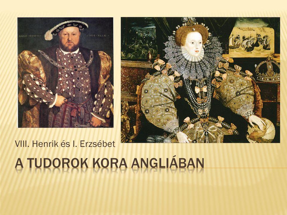 A Tudorok kora Angliában