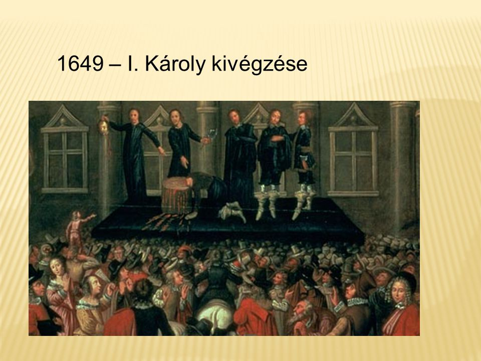 1649 – I. Károly kivégzése