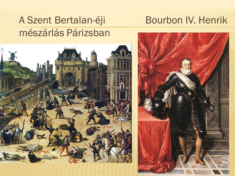 A Szent Bertalan-éji mészárlás Párizsban