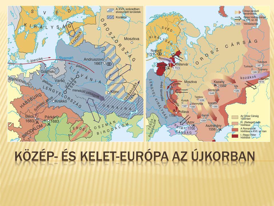 Közép- és Kelet-Európa az újkorban