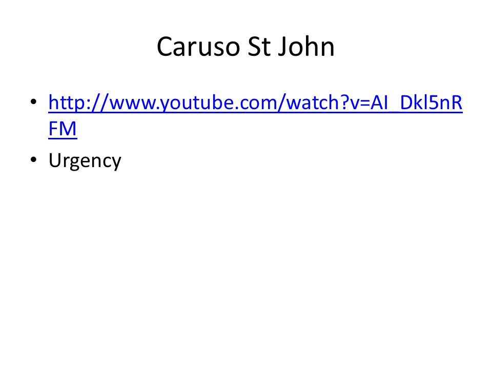 Caruso St John http://www.youtube.com/watch v=AI_Dkl5nRFM Urgency