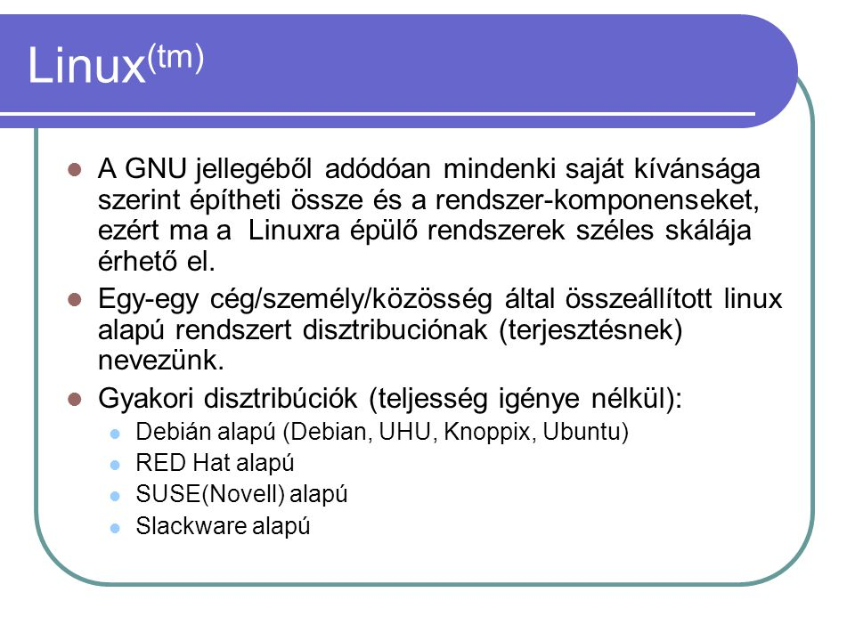 Linux(tm)