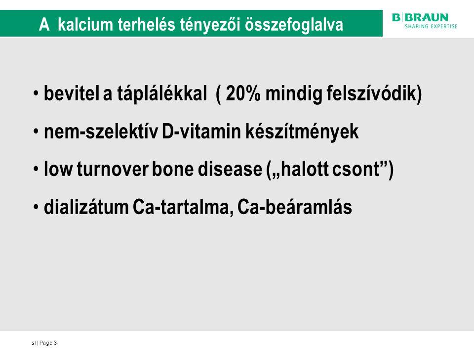 A kalcium terhelés tényezői összefoglalva