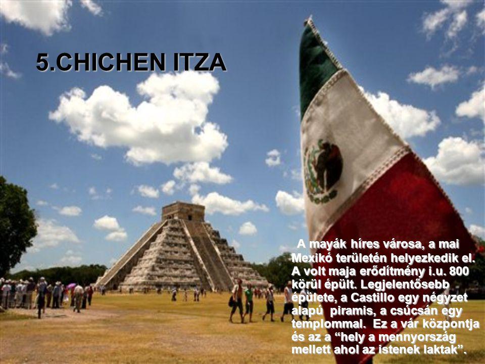 5.CHICHEN ITZA