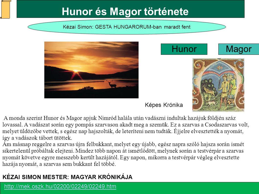 Hunor és Magor története