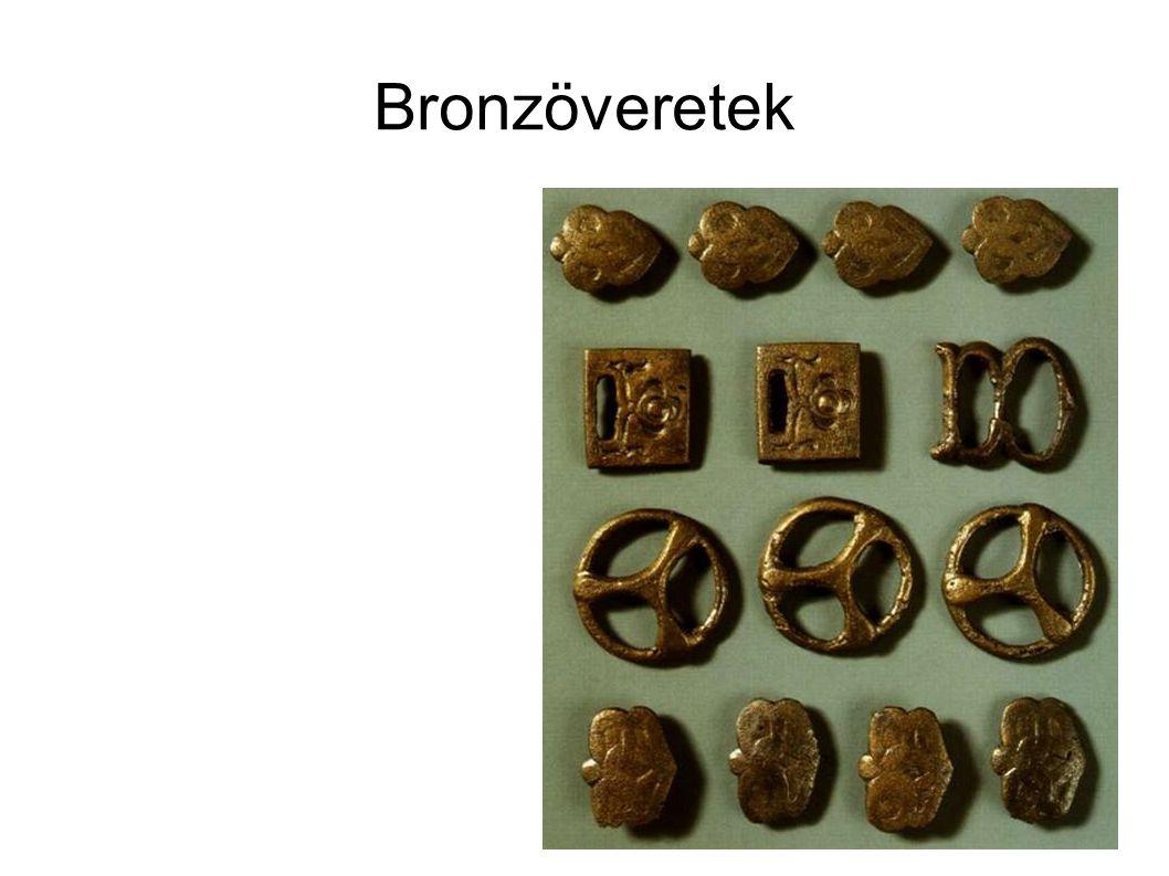 Bronzöveretek
