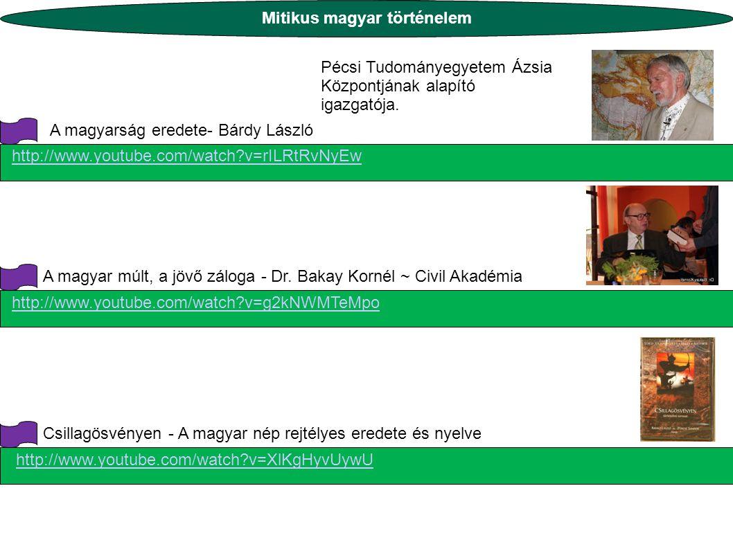 Mitikus magyar történelem