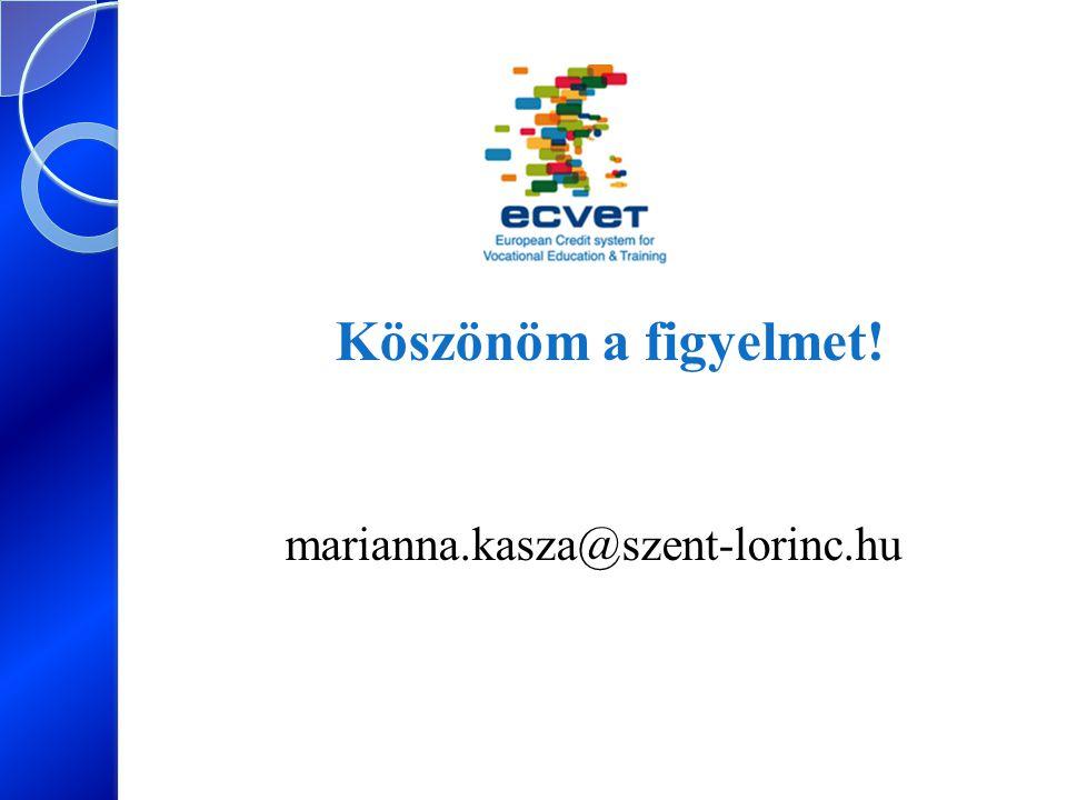 Köszönöm a figyelmet! marianna.kasza@szent-lorinc.hu