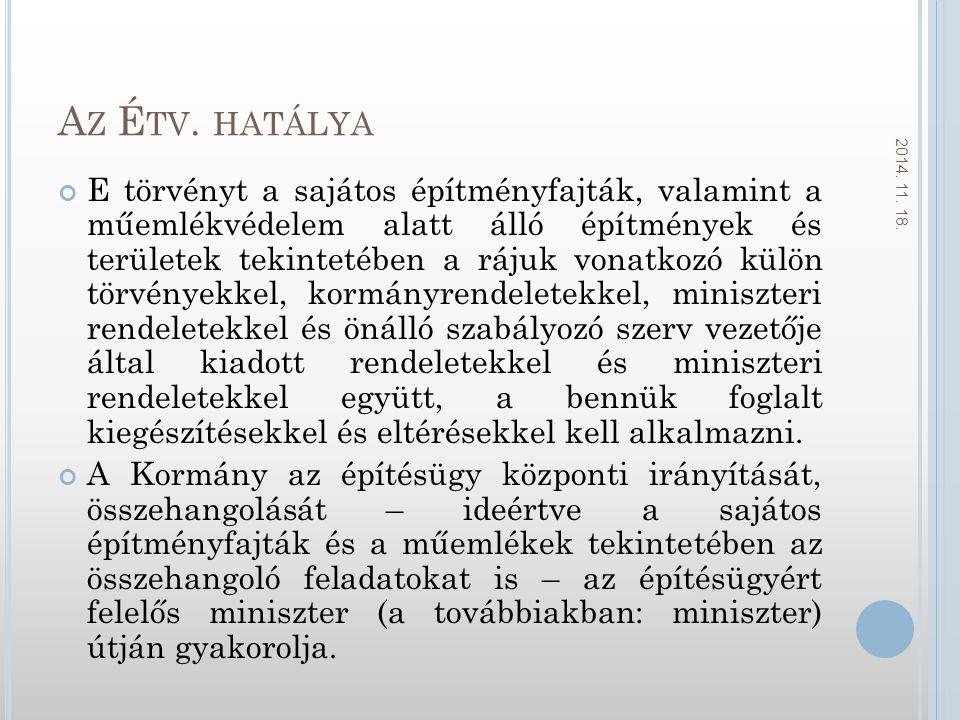 Az Étv. hatálya 2017.04.06.