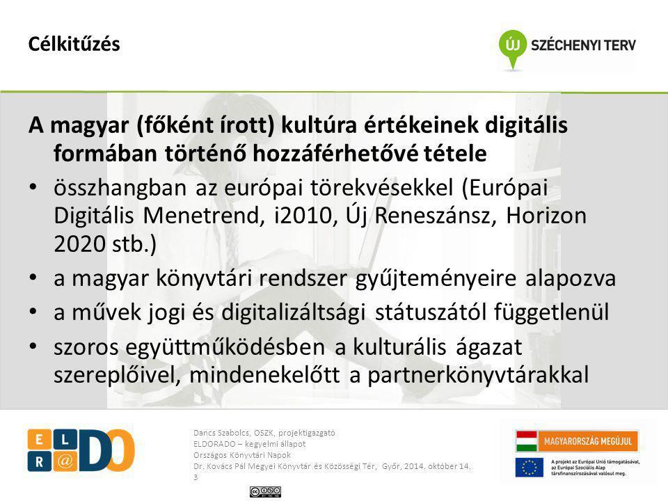 a magyar könyvtári rendszer gyűjteményeire alapozva