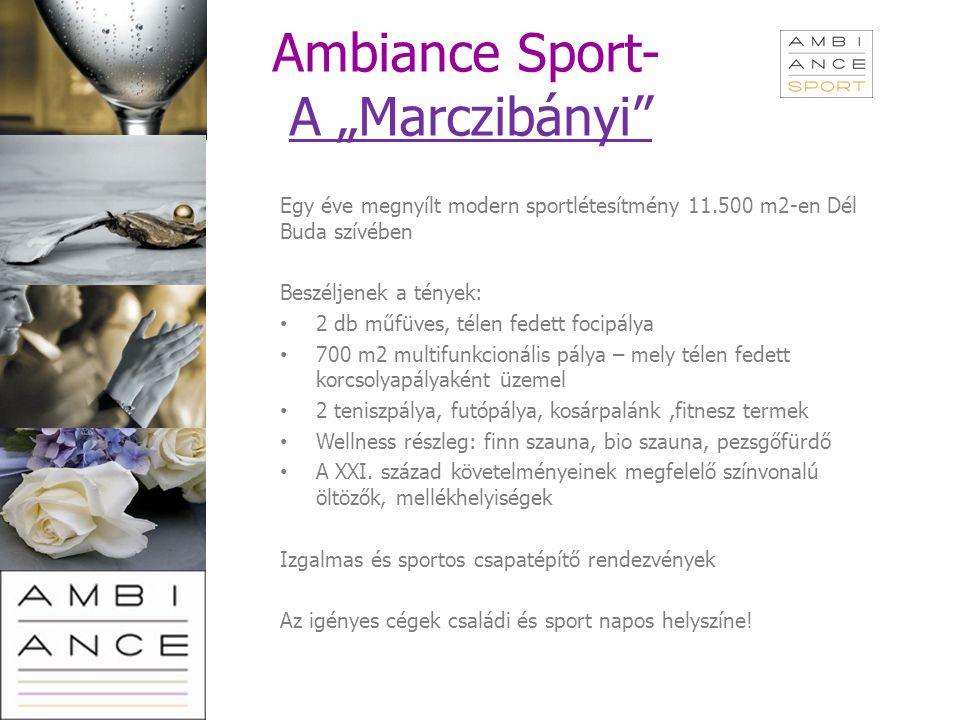 """Ambiance Sport- A """"Marczibányi"""