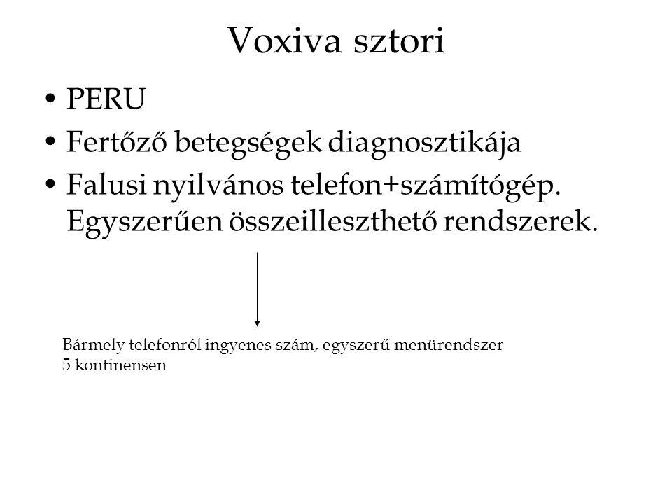 Voxiva sztori PERU Fertőző betegségek diagnosztikája