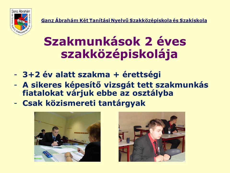 Ganz Ábrahám Két Tanítási Nyelvű Szakközépiskola és Szakiskola
