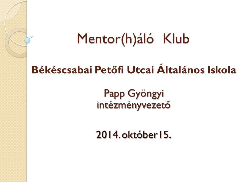 Békéscsabai Petőfi Utcai Általános Iskola