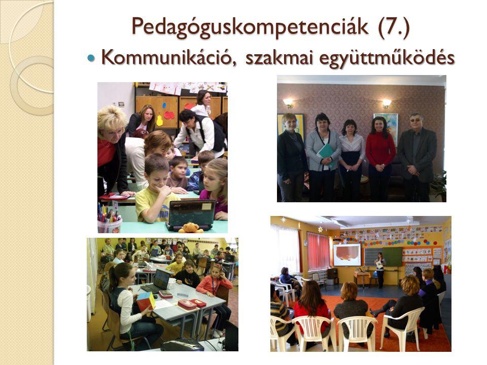 Pedagóguskompetenciák (7.)