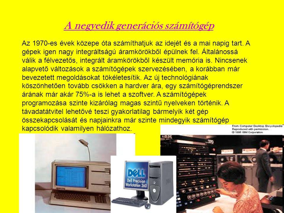 A negyedik generációs számítógép