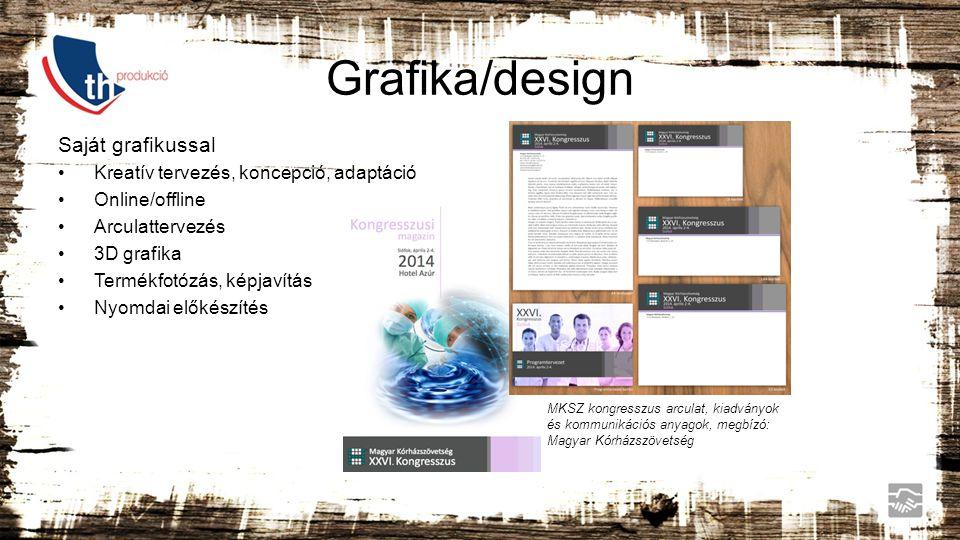 Grafika/design Saját grafikussal