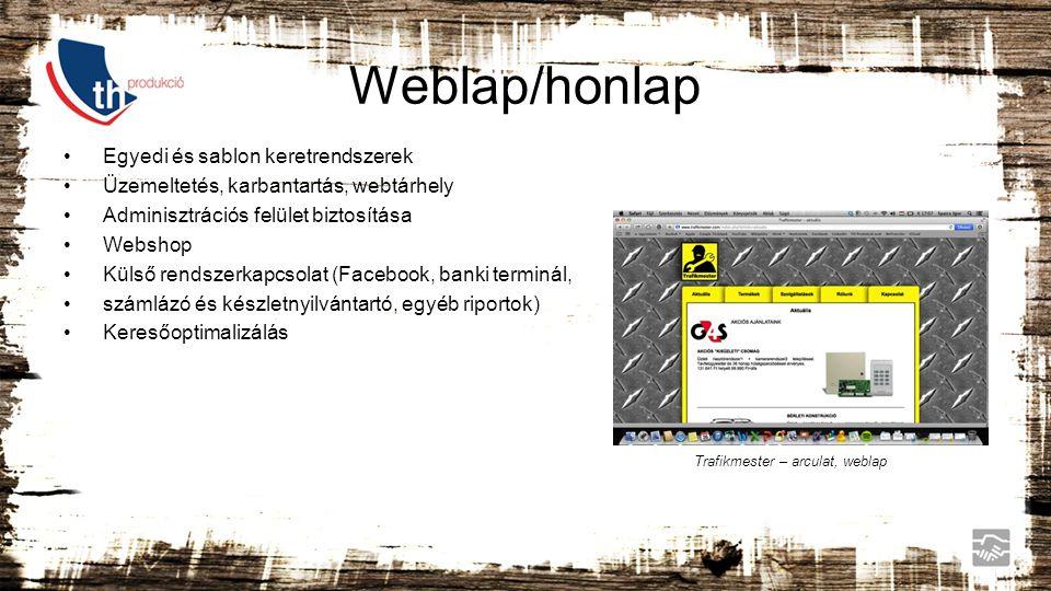 Weblap/honlap Egyedi és sablon keretrendszerek