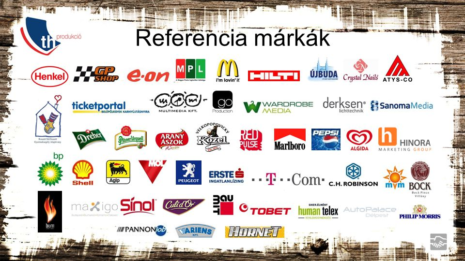 Referencia márkák