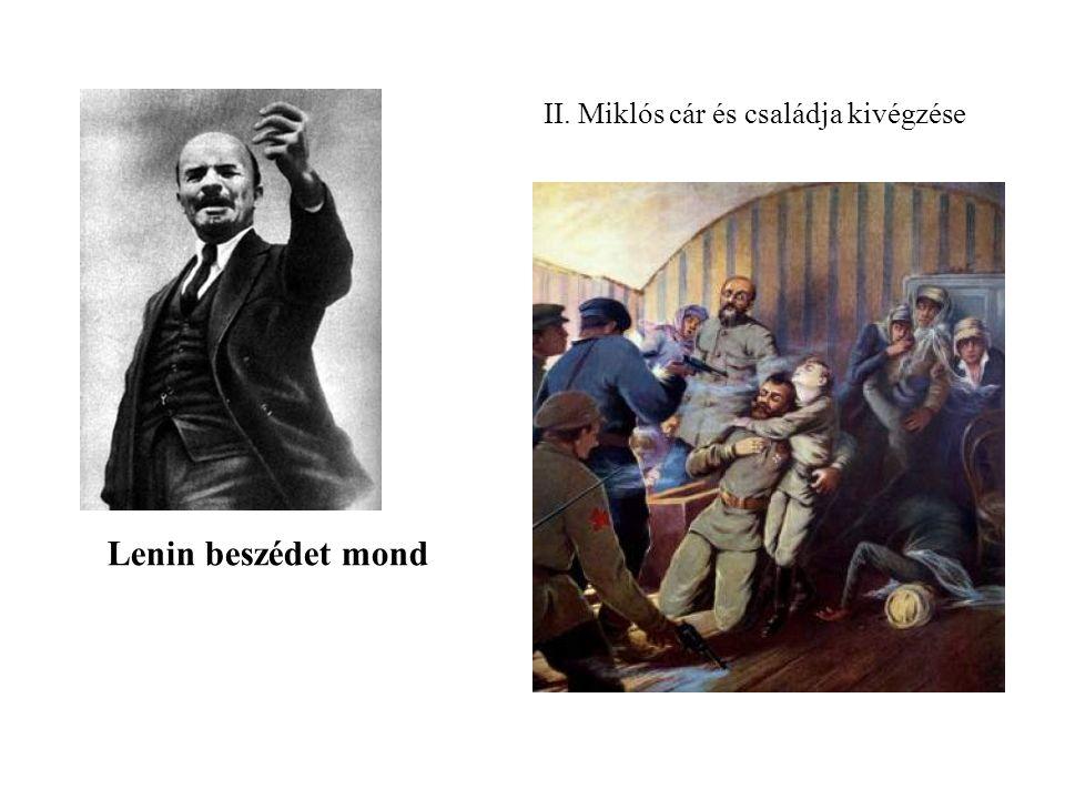 II. Miklós cár és családja kivégzése
