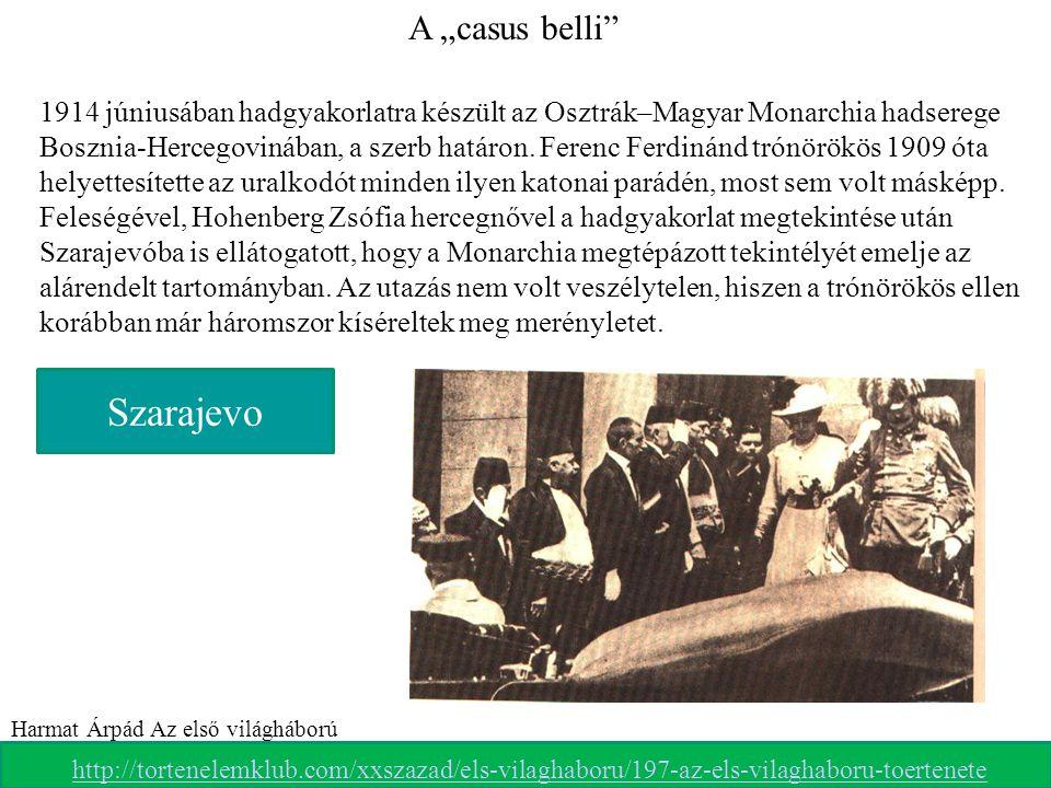 Ferenc Ferdinánd és felesége elindulnak végzetes útjukra