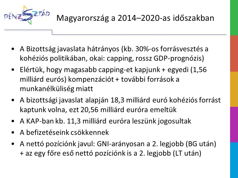 Magyarország a 2014–2020-as időszakban