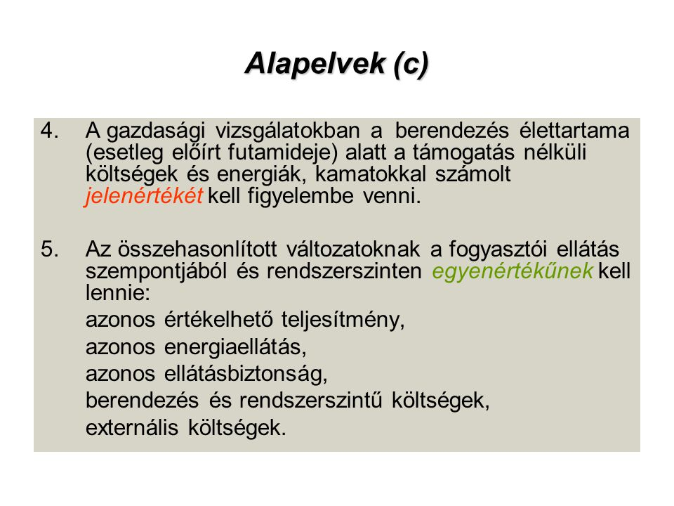 Alapelvek (c)