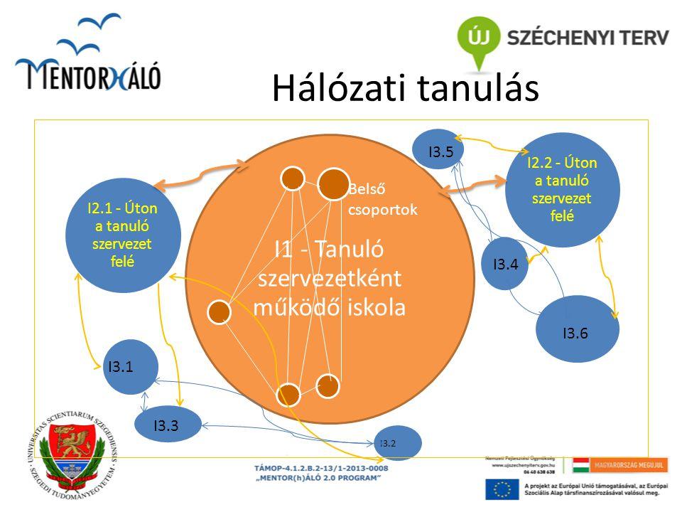 Hálózati tanulás I1 - Tanuló szervezetként működő iskola I3.5